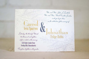 Nadia Wedding Invitation Suite