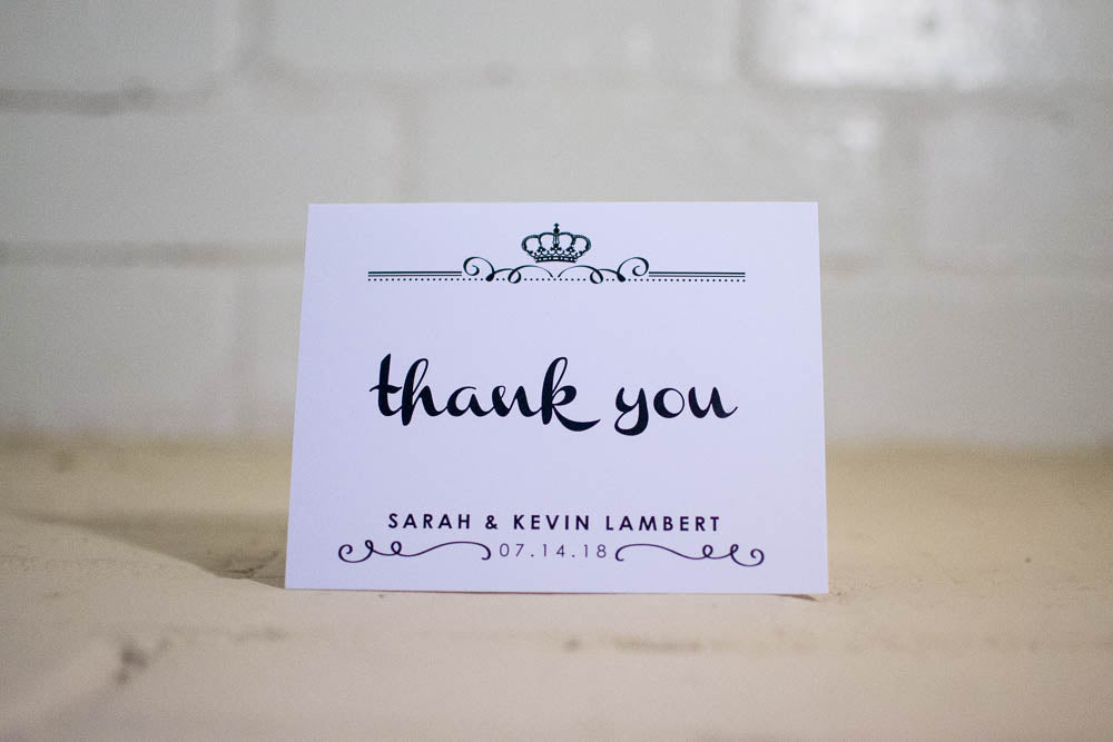 Kyleigh Personalized Thank You Cards - Lindsay Ann Artistry