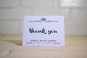 Kyleigh Personalized Thank You Cards