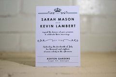 Kyleigh Wedding Invitations - Lindsay Ann Artistry