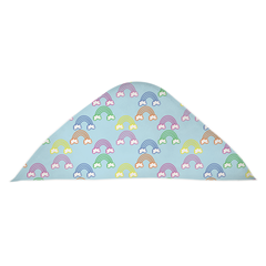 Rainbow Hooded Baby Towel - Lindsay Ann Artistry