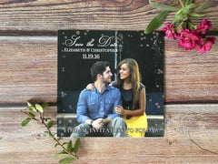 Bubbly Save the Date Cards - Lindsay Ann Artistry