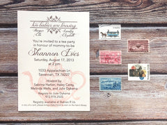 A Baby is Brewing Baby Shower Invitations - Lindsay Ann Artistry