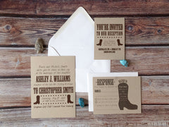 Rodeo Boot Insert Cards - Lindsay Ann Artistry
