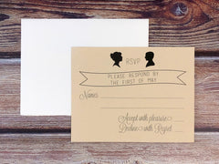 Simple Silhouette Response Cards - Lindsay Ann Artistry