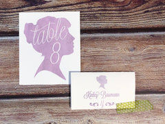 Mikaela Table Number Cards with Optional Place Cards