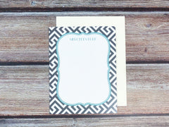 Patterned Benelux Personalized Notecards - Lindsay Ann Artistry
