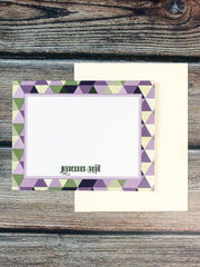 Stained Glass Personalized Note Cards - Lindsay Ann Artistry