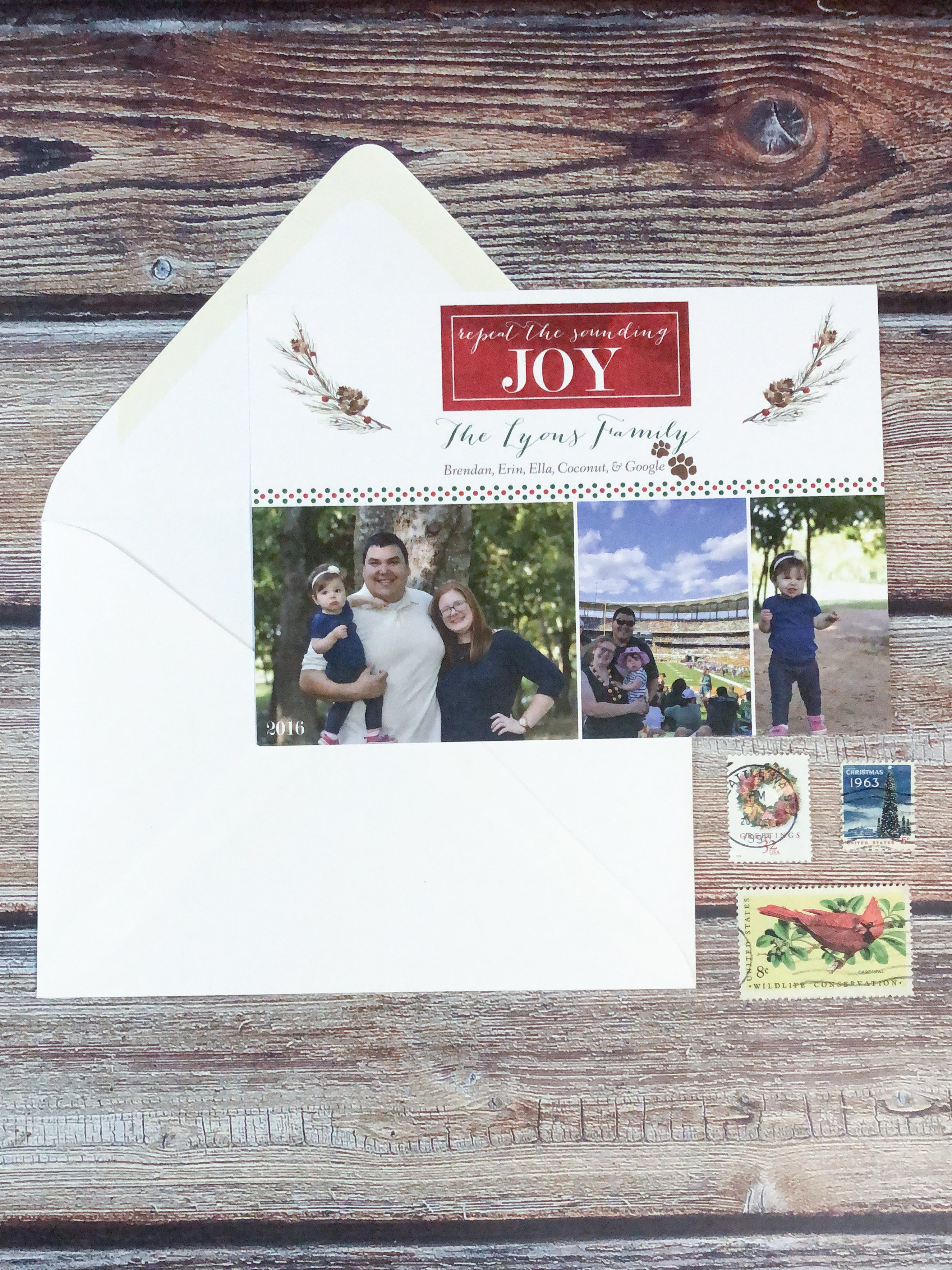 Repeat the Sounding Joy Photo Holiday Cards - Lindsay Ann Artistry