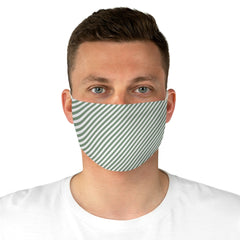 Diagonal Stripes Reusable Fabric Face Mask - Lindsay Ann Artistry