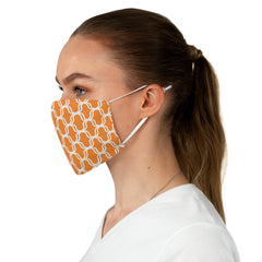Double Lattice Patterned Fabric Face Mask - Lindsay Ann Artistry
