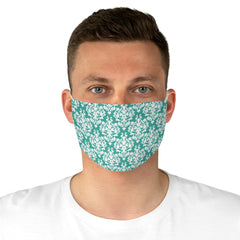 Thick Damask Patterned Reusable Fabric Face Mask - Lindsay Ann Artistry