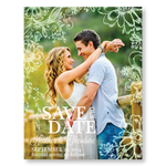 Antique Daisies Save the Date Cards