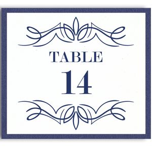 Eleanor Table Cards (Tables 1-24)