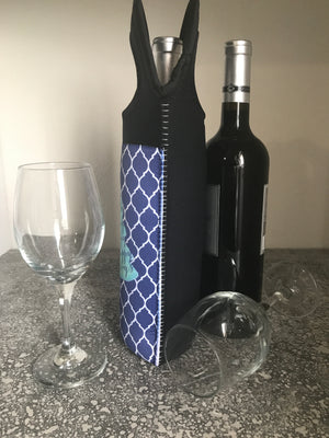 Happy Holidays Insulated Wine Tote - Lindsay Ann Artistry