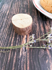 Wooden Stump Place Card Holders - Lindsay Ann Artistry