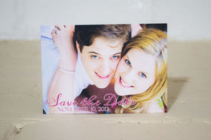 Lily Save the Date Cards