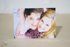 Lily Save the Date Cards - Lindsay Ann Artistry