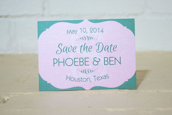 Fleurette Save the Date - Lindsay Ann Artistry