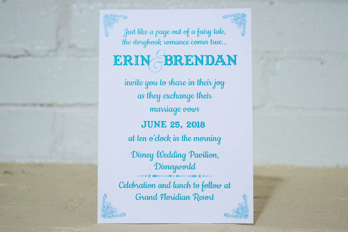 Dreams Come True Wedding Invitation Suite