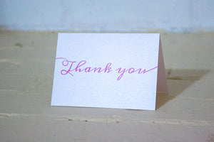 Lily Thank You Cards