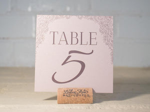 Rosie Table Number/Place Cards