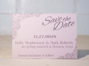 Rosie Save the Date Cards