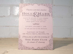 Rosie Wedding Invitation Suite