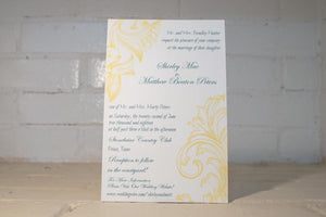Sandra Wedding Invitation Suite