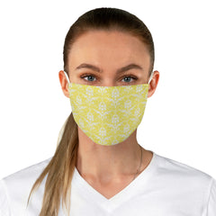 Fancy Damask Patterned Reusable Fabric Face Mask - Lindsay Ann Artistry