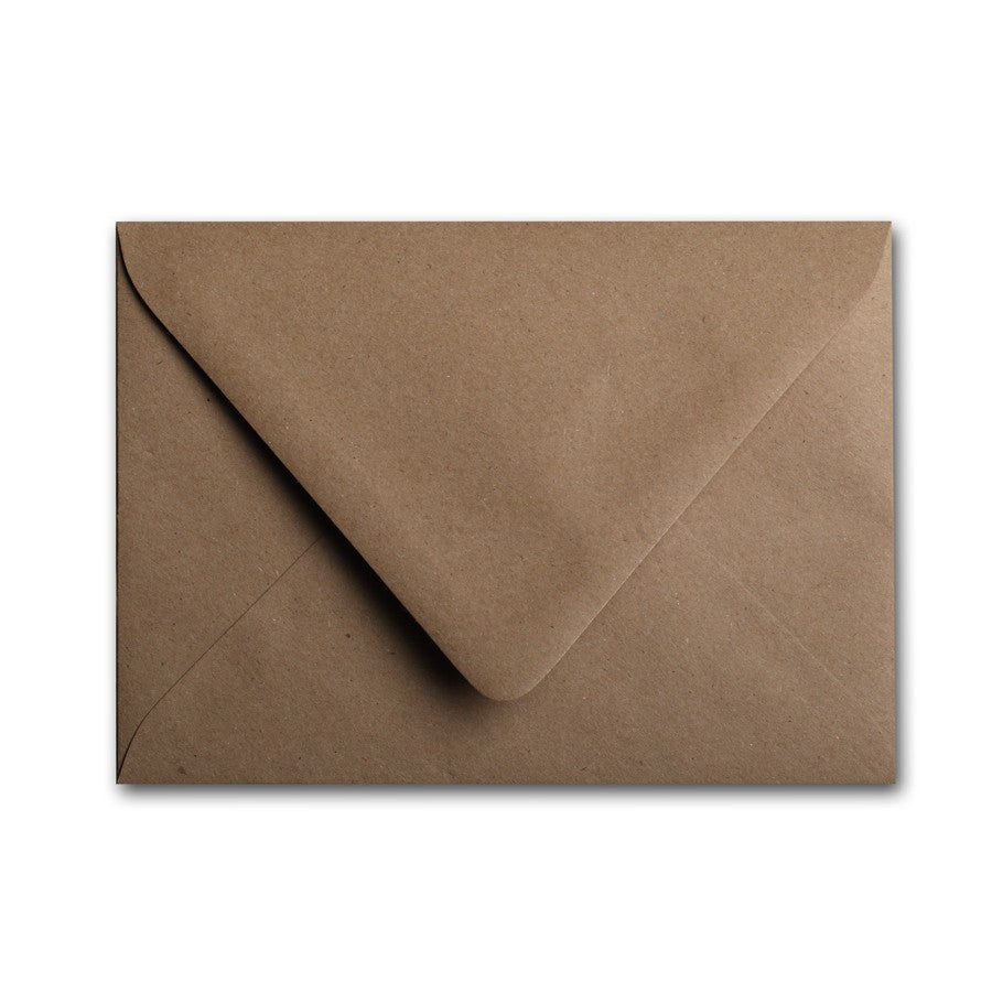 A7 Euro Flapped Envelopes - Browns - Lindsay Ann Artistry