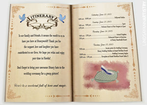 Dreams Come True Itinerary - Lindsay Ann Artistry