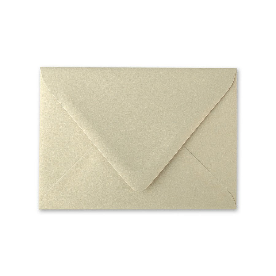 Gold Leaf A1 Euro Flapped Envelopes - Gold RSVP Envelopes