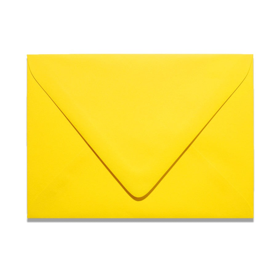 A1 Euro Flapped Envelopes - Yellows - Lindsay Ann Artistry