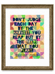 Don't Judge a Day Poster