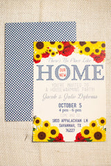 There's No Place Like (our new) Home Housewarming Party Invitations, Moving Announcements - Lindsay Ann Artistry