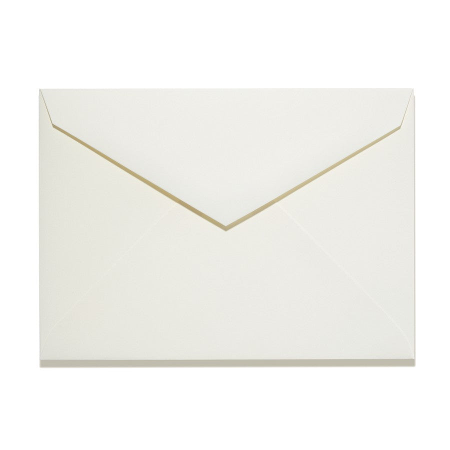 A1 Pointed Flapped Ivory Envelopes - Lindsay Ann Artistry