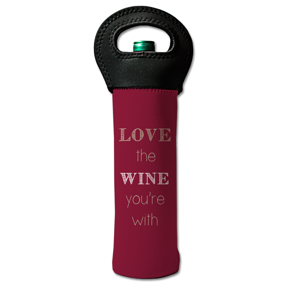 Love the Wine You're With Wine Tote - Lindsay Ann Artistry