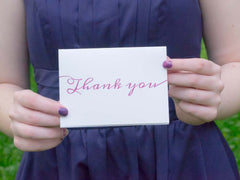 Lily Thank You Cards - Lindsay Ann Artistry