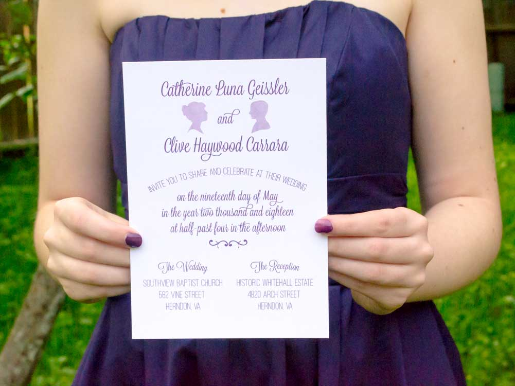 Mikaela Wedding Invitation Suite