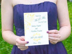 Sandra Save the Date Cards with Envelopes - Lindsay Ann Artistry