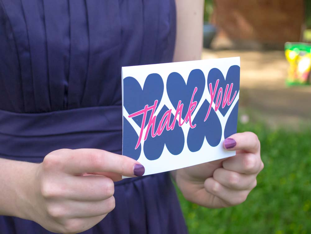 Hearts Thank You Cards - Lindsay Ann Artistry