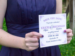 Dreams Come True Save the Date Cards