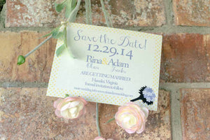 Sarah Save the Date Cards