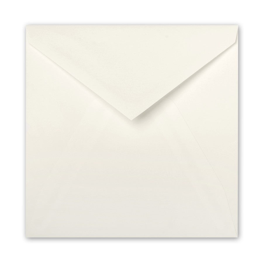 "5 ¾"" Square Pointed Flap Envelopes - A la carte"