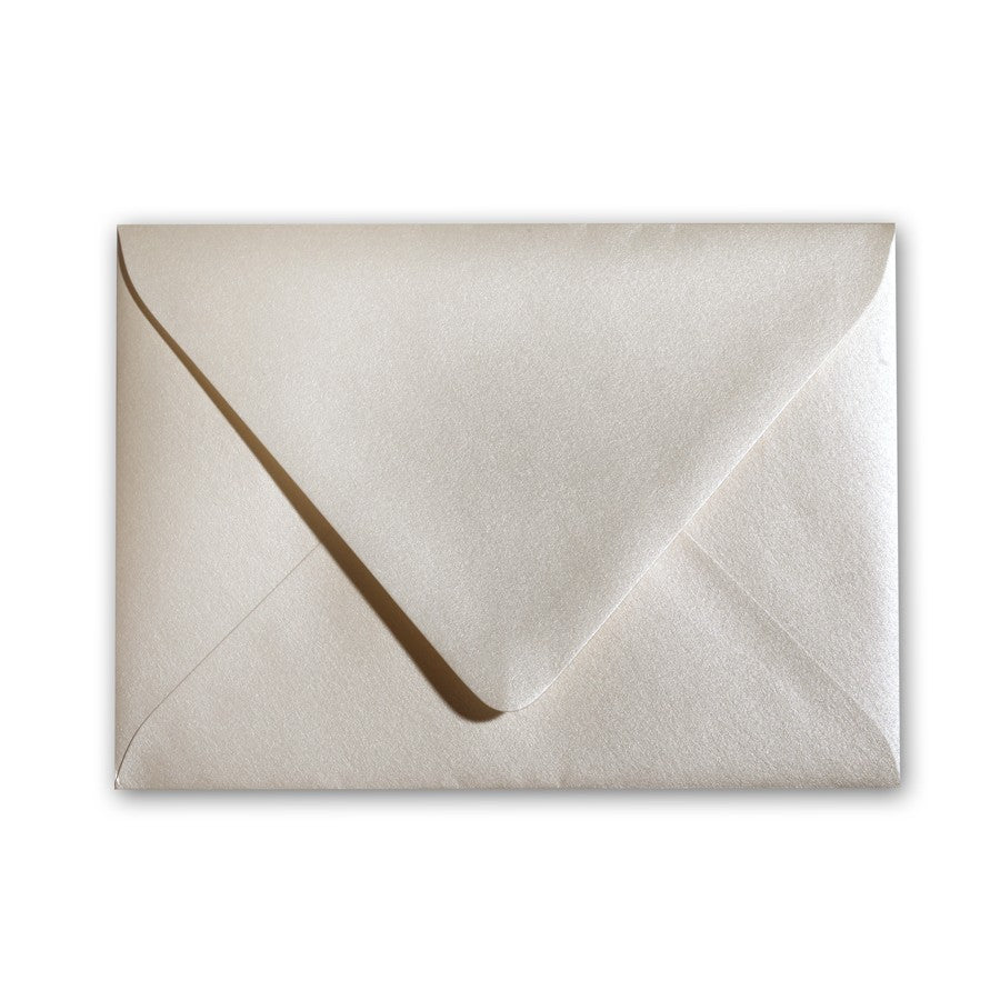 A1 Euro Flapped Envelopes - Natural/Ivory/White - Lindsay Ann Artistry