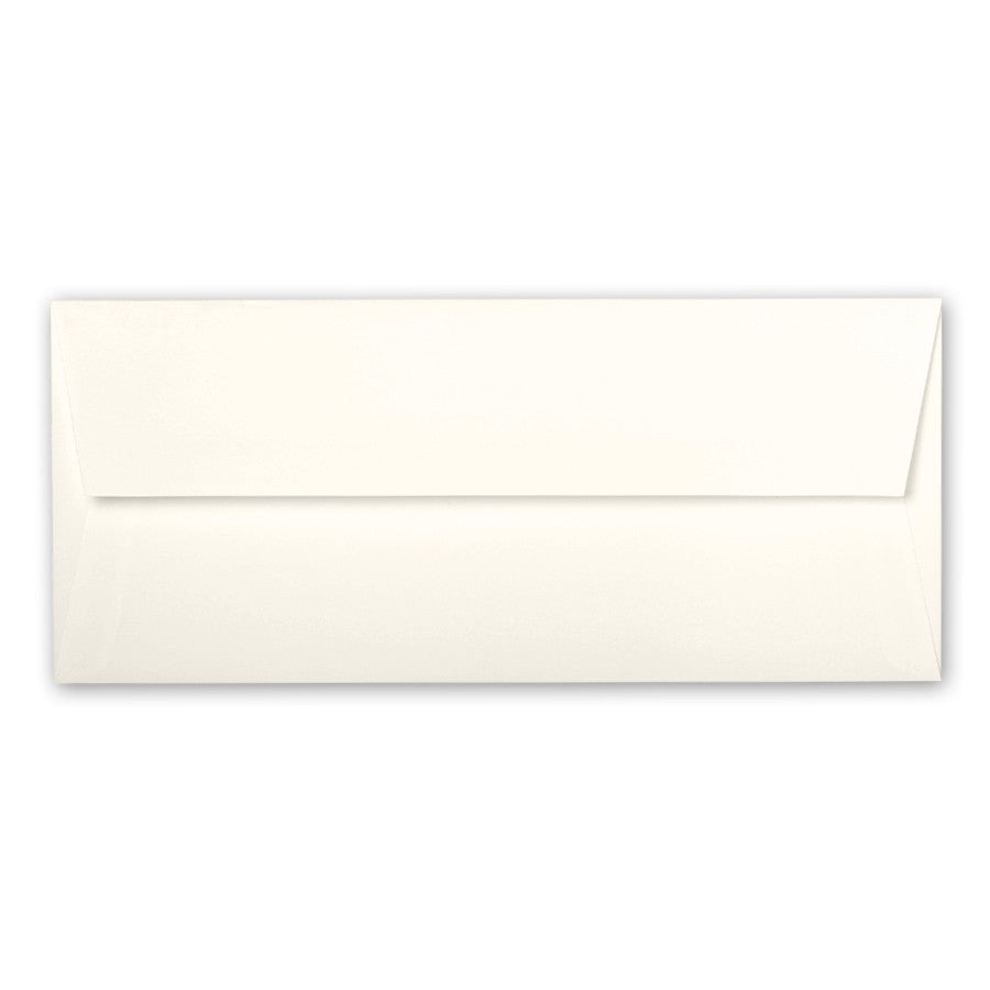 "#10 (4 1/8"" x 9 1/2"") Square Flapped Envelopes - A la carte - Natural/Ivory - Lindsay Ann Artistry"