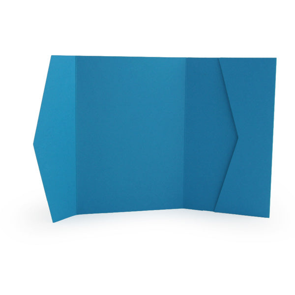 A7 Wide Pocket Invitation Folder - Lake