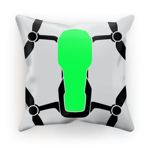 Green Drone Cushion - Drones Collection