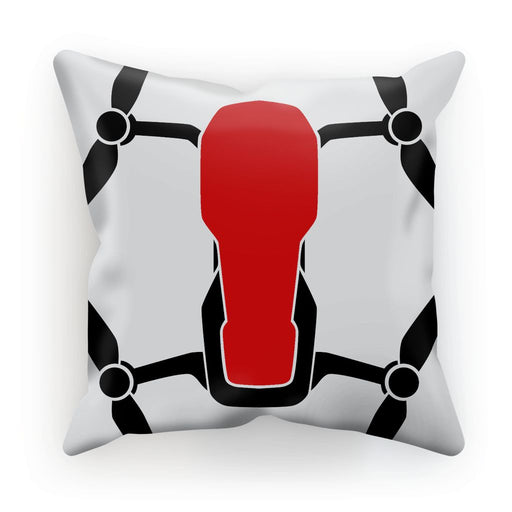 Red Drone Cushion - Drones Collection